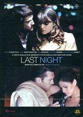 Copertina  Last night [DVD]