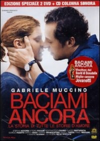 Cover Dvd Baciami ancora (con CD colonna sonora)