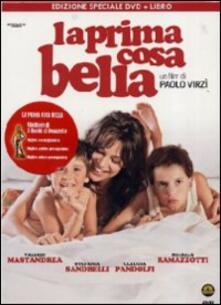 La prima cosa bella (con libro) di Paolo Virzì - DVD
