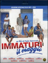 Cover Dvd DVD Immaturi - Il viaggio