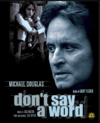 Cover Dvd Don't Say A Word (Blu-ray)