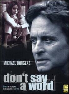 Don't Say A Word (2 DVD) di Gary Fleder - DVD