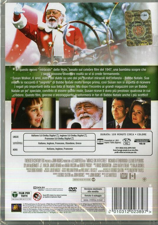 Miracolo nella Trentaquattresima strada di Les Mayfield - DVD - 2