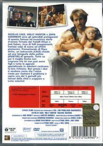 Arizona Junior di Joel Coen,Ethan Coen - DVD - 2