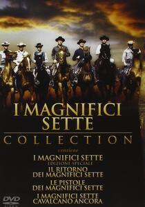 I magnifici sette (4 DVD) di Burt Kennedy,George McCowan,John Sturges,Paul Wendkos