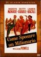 Cover Dvd DVD Come sposare un milionario