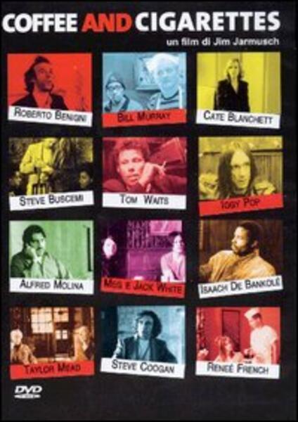 Coffee & Cigarettes (DVD) di Jim Jarmusch - DVD
