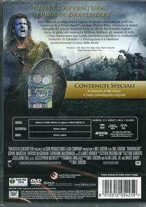 Braveheart<span>.</span> Edizione 20° anniversario di Mel Gibson - DVD - 2
