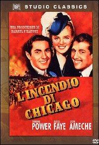 Locandina L'incendio di Chicago