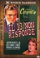 Cover Dvd DVD Il 13 non risponde