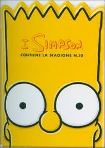 I Simpson. Stagione 10 (testa di Bart) (4 DVD)<span>.</span> testa di Bart - DVD