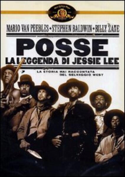 Posse. La leggenda di Jessie Lee di Mario Van Peebles - DVD