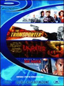 Blu-Ray Box Action (4 Blu-ray) di Alexandre Aja,John McTiernan,Brett Ratner,Corey Yuen