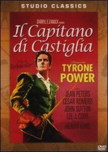 Il capitano di Castiglia di Henry King - DVD