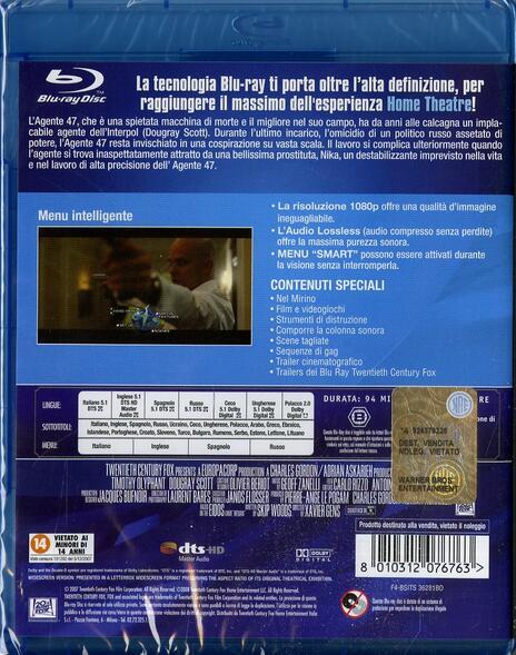Hitman. L'assassino di Xavier Gens - Blu-ray - 2