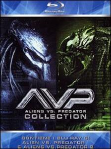 Alien vs. Predator - Aliens vs. Predator 2 (2 Blu-ray) di Paul W.S. Anderson,Colin Strause,Greg Strause