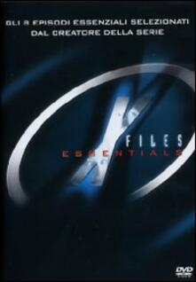 X Files. Essentials (2 DVD) di Robert Mandel,David Nutter,Daniel Sackheim,Rob Bowman,Chris Carter - DVD