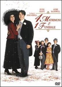 Quattro matrimoni e un funerale di Mike Newell - DVD