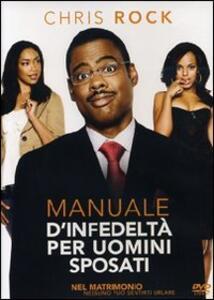 Manuale d'infedeltà per uomini sposati di Chris Rock - DVD
