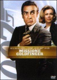 Cover Dvd Agente 007. Missione Goldfinger