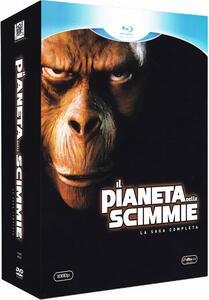Il pianeta delle scimmie. La saga completa (3 Blu-ray) di Ted Post,Franklin J. Schaffner,Don Taylor,Jack Lee Thompson