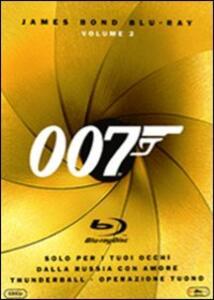 007. James Bond. Blu-ray. Vol. 2 (3 Blu-ray) di John Glen,Terence Young