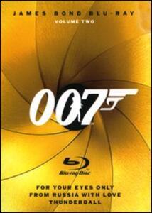 007. James Bond. Blu-ray. Vol. 1 (3 Blu-ray) di Guy Hamilton,Lee Tamahori,Terence Young