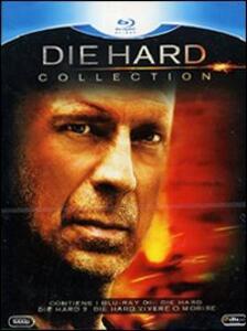 Die Hard Collection (3 Blu-ray) di Renny Harlin,John McTiernan,Len Wiseman