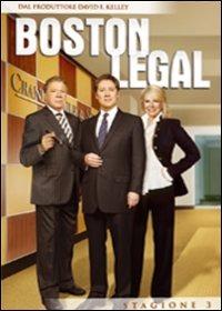 Cover Dvd Boston Legal. Stagione 3
