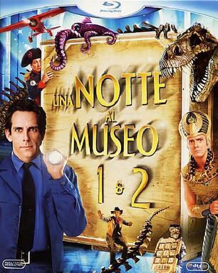 Notte Al Museo.Notte Al Museo 1 E 2 2 Blu Ray Blu Ray Film Di Shawn Levy