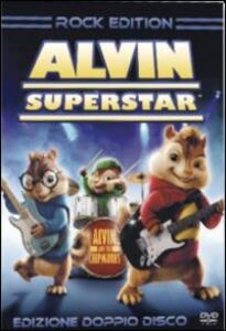 Alvin Superstar (2 DVD)<span>.</span> Rock Edition di Tim Hill - DVD