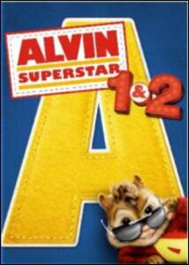 Alvin Superstar 1 & 2 (2 Blu-ray) di Tim Hill,Betty Thomas - Blu-ray