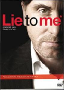 Lie to me. Stagione 1 (4 DVD) - DVD