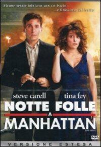 Cover Dvd Notte folle a Manhattan