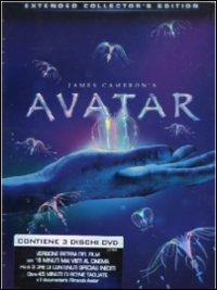 Cover Dvd Avatar. Extended Collector's Edition (3 DVD)