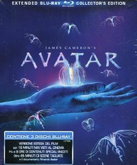 Cover Dvd Avatar. Extended Collector's Edition (Blu-ray)