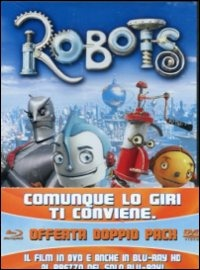 Cover Dvd Robots (Blu-ray)