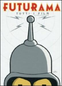 Futurama Movie Boxset (4 DVD) di Peter Avanzino,Dwayne Carey-Hill