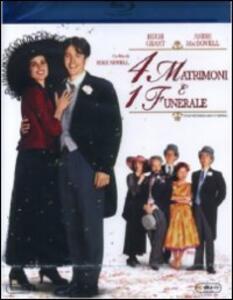 Quattro matrimoni e un funerale di Mike Newell - Blu-ray
