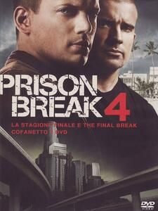 Prison Break. Stagione 4 + The Final Break. Serie TV ita (7 DVD) - DVD