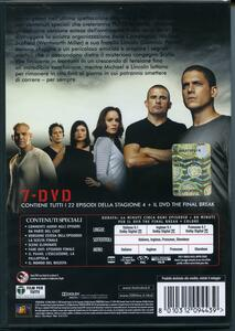 Prison Break. Stagione 4 + The Final Break. Serie TV ita (7 DVD) - DVD - 2