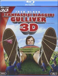 I fantastici viaggi di Gulliver 3D di Rob Letterman - Blu-ray