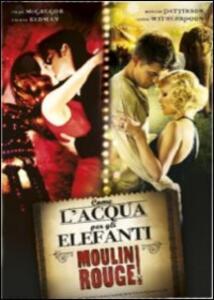 Come l'acqua per gli elefanti. Moulin Rouge (2 DVD) di Francis Lawrence,Baz Luhrmann
