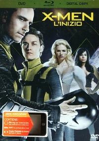 Cover Dvd X-Men. L'inizio (Blu-ray)