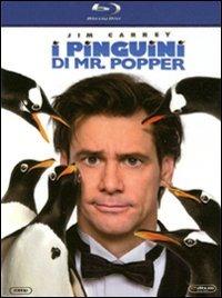 Cover Dvd pinguini di Mr. Popper (Blu-ray)