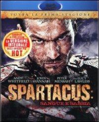 Cover Dvd Spartacus. Sangue e sabbia. Stagione 1 (Blu-ray)