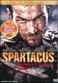 Cover Dvd Spartacus. Sangue e sabbia. Stagione 1 (DVD)