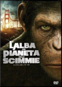 Cover Dvd alba del pianeta delle scimmie (DVD)