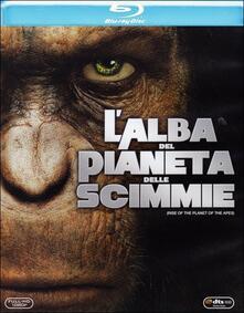 L' alba del pianeta delle scimmie di Rupert Wyatt - Blu-ray