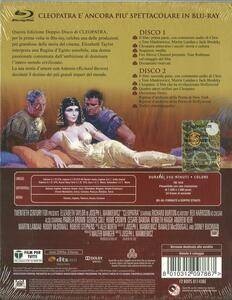 Cleopatra (2 Blu-ray)<span>.</span> Edizione 50° anniversario di Joseph Leo Mankiewicz - Blu-ray - 2